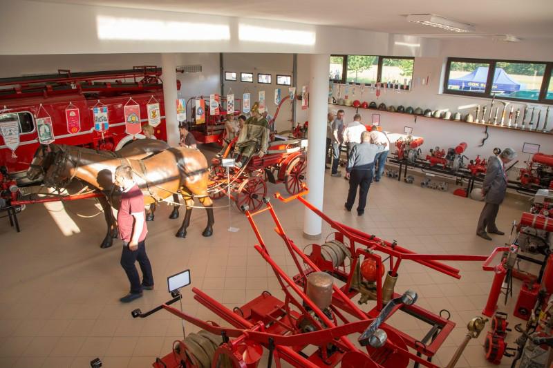 Otwarcie Wystawy Stałej Muzeum Pożarnictwa w Oseredku